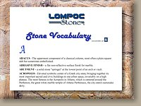 Image of Natural Stone Vocabulary