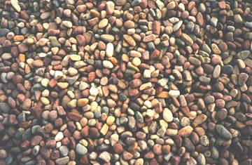 Krista Mountain Natural Stone pebbles
