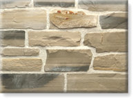 Small photo of Ledge Stone, Ledgestone or Ashlar Strip From Lompoc Stone